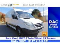 Mercedes Sprinter 5 TONNE WATER JETTING VAN AIR CON TWIN REAR WHEEL 511CDI MWB