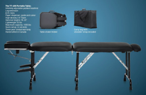 Gently Used Portable Chiropractic Table for Sale