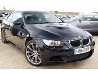 2012 BMW M3 4.0 AUTO 415BHP PHANTOM BLACK + FULL BMW HISTORY + JUST SERVICED