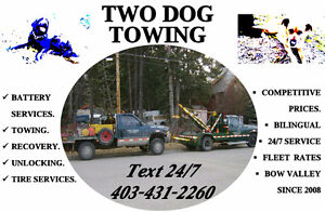 TWO DOG TOWING : Proudly Serving Bow Valley Since 2008