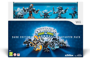 Brand New Skylanders Swap Force Dark Edition Starter Kit Wii