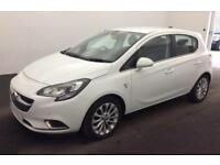 2016 WHITE VAUXHALL CORSA 1.4 SE 90 PETROL 5DR HATCH CAR FINANCE FR £29 PW