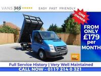 Ford Transit F/S/H 115 BHP FACTORY ALLOY ONE STOP TIPPER HEATED FRONT SCREEN 350