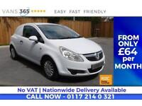Vauxhall Corsa NO VAT 62 MPG FUEL EFFICIENT VAN SWB CDTI