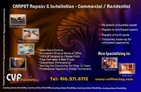 Carpet and Resilient Flooring. Installation, Sales & Service