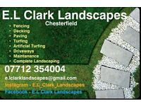 E.L Clark Landscapes - Maintenance, Full Landscaping, Fencing, Decking, Paving and more...