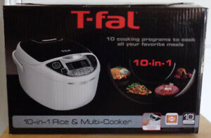 T-Fal 10-In-1 Rice & Multi-Cooker (Brand New)