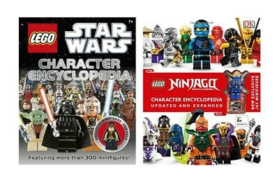 LEGO - Star Wars & Ninjago Updated Edition - Character Encyclopedia w/ Figures