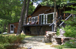 Magnetawan River waterfront cottage