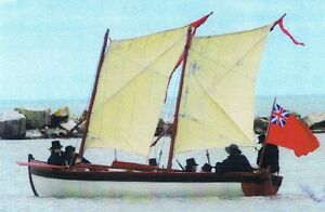 H.M.S. PANDORA 22 foot period long boat
