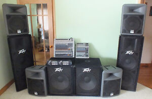 Peavey Sound System $3999 or Parted Out See Below