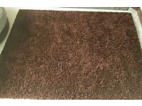 Chocolate brown rugs