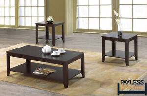 NEW ★ 3 piece coffee table sets ★