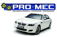 Garage Pro-Mec: Mécanique/Pièces/carrosserie/performance Laval