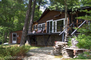 Price reduced $20,000.cottage in the Magnetawan River prov park