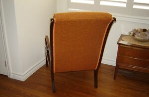 Antique high back chair London Ontario image 3