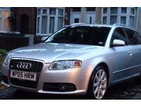 Audi a4 sline silver