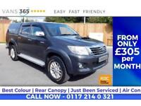 Toyota Hilux HI-LUX ICON 4X4 D-4D DCB SAT NAV AIR CON BLUETOOTH NICE TRUCK