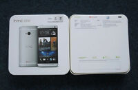 htc m8 32gb unlocked used with box clean color gray $300
