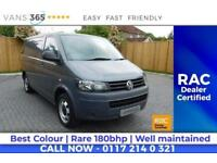 VW Transporter GREAT VALUE DRIVES PERFECT 180 BHP ENGINE AIR CON BLUETOOTH KIT T