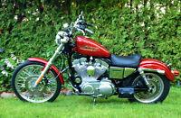 Harley sportster hugger 1999