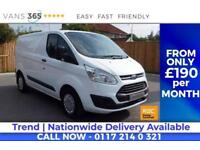 Ford Transit Custom CRUISE CONTROL BLUETOOTH HANDS FREE HEATED FRONT SCREEN PARK