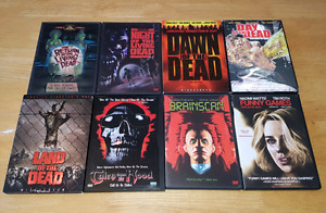 Various Horror DVD's