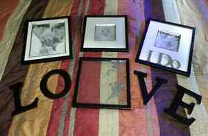 WEDDING PICTURE FRAME SET