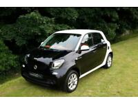 2015 '65' SMART FORFOUR PASSION WITH COMFORT PACK. ONLY 8400 MILES. 1 OWNER.