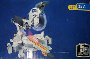 12 in Sliding Compound Mitre Saw For Sale