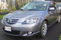 Mazda3 Sport 2006 Low mileage. Good on gas.