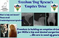 Freedom Dog Rescue Bottle Drive
