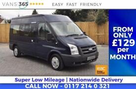 Ford Transit ONLY 42K MILES! HEATED FRONT WINDSCREEN 10 SEATER TWIN SLIDING SIDE