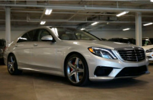Mercedes-Benz S63 AMG  Mint Condition! Low mileage!