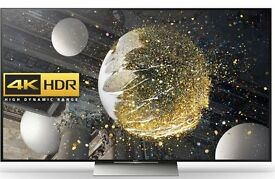 "Sony Bravia 55XD9305 LED Premium HDR 4K Ultra HD 3D Android TV, 55"" With Youview/Freeview HD"