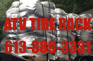 ATV Tires Canada - ATV TIRE RACK We'll BEAT any price, Just call