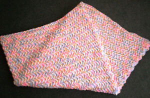 NEW handknit baby afghans