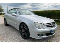 2008 Mercedes-Benz CLK 3.0 CLK280 AVANTGARDE 2d 228 BHP CABRIOLET AUTO Convertib