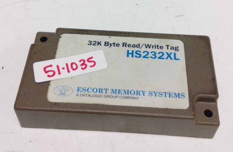 ESCORT MEMORY SYSTEMS 32K BYTE READ/WRITE TAG HS232XL