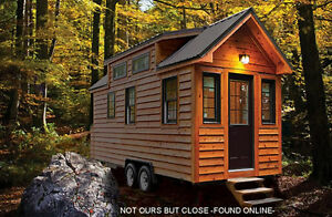A place for our Tiny House on Wheels to live