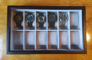 Watches and watch case / box