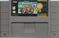 Super Mario Kart SNES Super Nintedno Super Mariokart Mario Cart