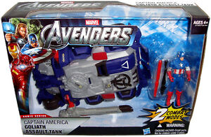 Avengers-Captain-America-Goliath-Assault-Tank-MIB-Vehicle-Marvel-Comics-Hasbro