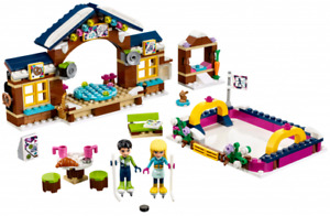 Lego Friends - Snow Resort Ice Rink (mostly new)