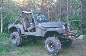 "1986 Jeep CJ 7 ""Bush Rig"""