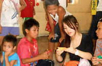 Providing meals for disadvantaged students in Manila