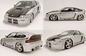 1988 Honda Hatchback BLACK WIDOW body kit
