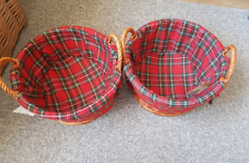 Christmas Wicker baskets