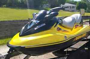 Seadoo + trailer and life jacket.