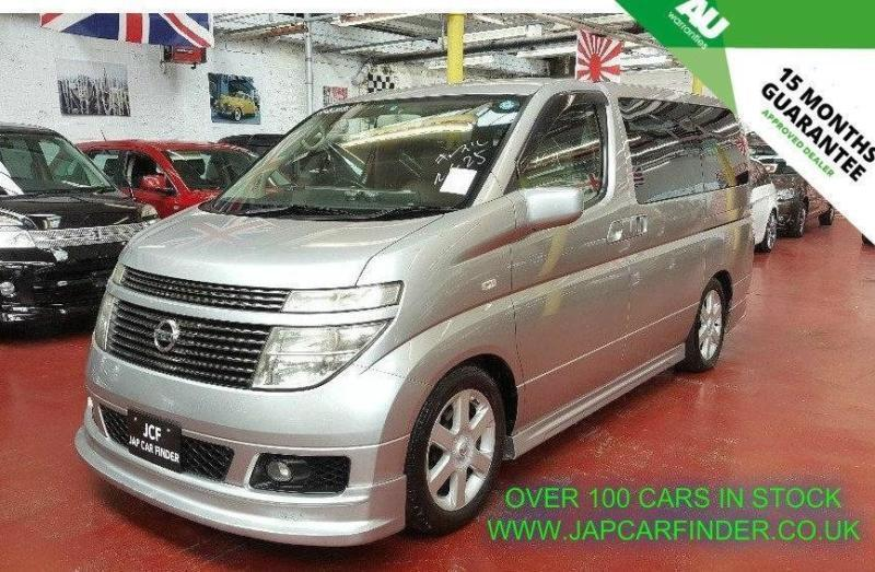 2003 Nissan Elgrand E51 8 Seater Dad Body Kit Picnic Tray 3 5 5dr